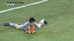 思わず吹いたサッカー画像 川島