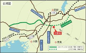 8802 - 三菱地所(株) 私は京都府在住です。 まだまだ先ですが、京都府内初の大型アウトレットモールが城陽市の東部一帯に広がる
