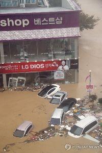 3224 - (株)ゼネラル・オイスター 台風の被害 お隣、韓国の被害状況はこんな感じらしいです