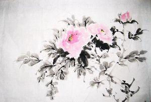 3224 - (株)ゼネラル・オイスター うちの水墨画です 自作です