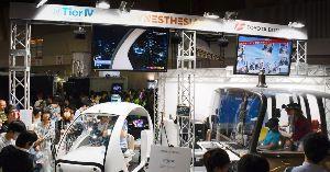 ZMPとZMP関連銘柄を語る ⬆シナスタジア 【東京ゲームショウ、VRドライブ体験が盛況 自動運転スタートアップのティアフォーと子