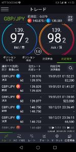 gbpjpy - イギリス ポンド / 日本 円 暴落後の戻りも取れたので、この辺で撤退..