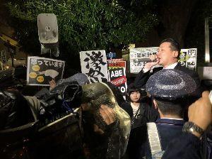 プロ野球 阪神 「安倍首相辞任しろなんて一言も言ってない」なんて言いながら しっかりと倒閣デモに参加している 阪神タ