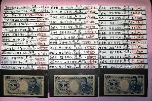 A型の方、メ-ル待ってます りこさん今日は、 切手でもそうですが、国で出すお札や貨幣の間違いは絶対に許されないのです、 お札など