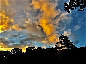 お好きなお写真をお披露目しませんか? 大阪城の朝