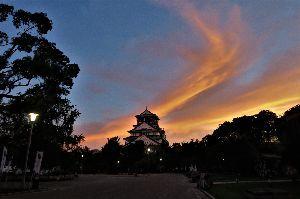 お好きなお写真をお披露目しませんか? 大阪城、全体的に撮影するとこのような風景
