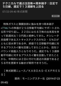 7746 - 岡本硝子(株) そろりそろり⤴︎⤴︎