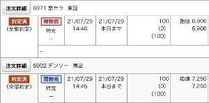 4911 - (株)資生堂 今日は京セラさんの決算に参加してみました⊂((・x・))⊃