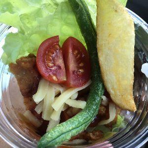 tacos ザンタコライス 北海道のザンギと合体だそうです。