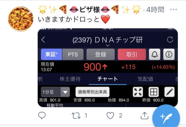 2397 - (株)DNAチップ研究所 よ❤️