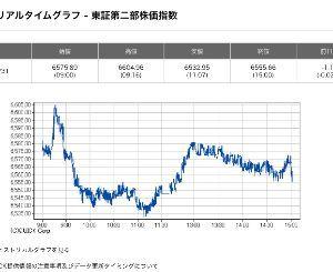 3825 - (株)リミックスポイント たしかに今日のリミポは 東証2部のチャートに同調