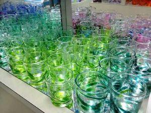 沖縄、川柳でしりとり!! あと怖い     ガラス工房             癒される   恩納ガラス工房  綺麗だから、見