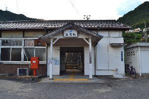 年金生活も楽しい JR須波駅・・ 呉線の全線復旧はいつになるのかな?
