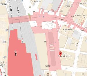 9635 - 武蔵野興業(株) 新宿武蔵野館で映画を観た後、新宿駅東口へ行き電車に乗る時、【 武蔵野ビルの地下1階 】 へ降りる。