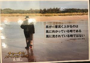 9635 - 武蔵野興業(株) 『チャーチル ノルマンディーの決断』 の、トイレ小の上に貼ってある広告を、 誰もいない時に気に入った