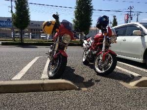Ducati乗りの交流の広場にした~い スローさん、ドカ乗りの皆さんはじめまして。先日、勢い余ってモンスターを2台買ってしまい夫婦で乗り始め