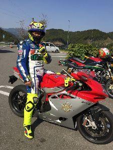 福岡県リターンライダー仲間 今日のブレーキ、死ぬ    と思った。