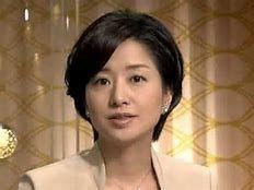 女性アナウンサー 「報道特集」膳場貴子さん。