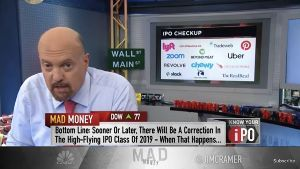 ZM - ズーム・ビデオ・コミュニケーションズ CramerのIPO Checkup: IPO銘柄は早かれ遅かれ調整するので、其の時には買い。  (