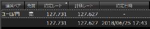 (仮称)全日本女子投資クラブ[FX・為替] ユーロ円... 127.731売り 指値127.431 逆指値127.881