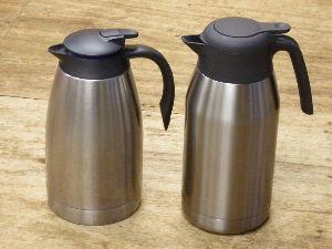 2文字しりとり 【魔法瓶】    食卓用の液体つぎのうち、  保温機能を有するもの。  といっても、時間が経てば熱い