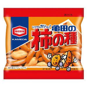 2文字しりとり 【柿の種】    亀田製菓から発売されている、  しょっぱい系のお菓子です。  柿とは何の関係も無い