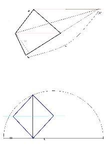 哲学カテゴリーで、数学を楽しむトピック >長方形を正方形に、へ移りましょう。1/12(日)と期限を切りたいと思います。   これは今ま