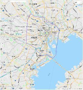 都民と地方人の東京の認識が違いすぐるwwwwwwww 都民が考える東京の範囲
