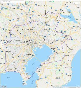 都民と地方人の東京の認識が違いすぐるwwwwwwww 方人が考える東京の範囲