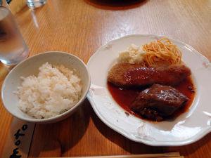 麺はナンデモ♪^^麺ぢゃなくてもOK♪ 「サンセール」  今日は久しぶりに神戸へ買い物に出かけました。 家人がお昼ご飯を食べようと南京町の近