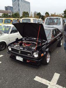 9984 - ソフトバンクグループ(株) お台場の旧車イベントに行ってきた この110サニーの良さ解るかな~?