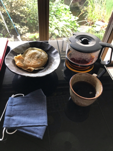 9984 - ソフトバンクグループ(株) お地蔵さま マスクとコーヒーありがとうございました。