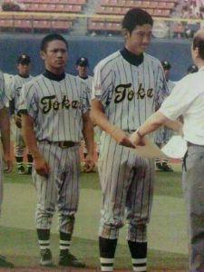 野球酒場エビス 緋鯉も、コースケが入って来てから、東海大相模も応援するようになった(笑) 菅野とコースケ↓