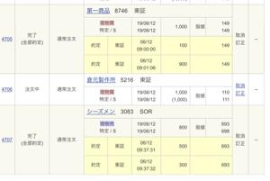 3083 - (株)シーズメン ストップありがとう😊 2323お願いします