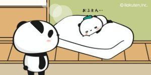 ただのロケット 小作ちゃん、今日は遅くまで起きてるね(;^_^A  寝る時にはお白湯をがぶ飲みして、お布団に入って寝