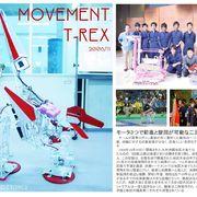 機械式二足歩行ロボット: T-Rex