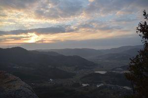 ☆☆岡山の山、大好き☆☆ 今日の矢掛の高妻山の竜王岳  展望がよいのは東側が竜王岳、西側が希望の丘みたいです。