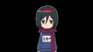 アニメのキャラクター名でしりとり ミカサ・アッカーマン 進撃!巨人中学校
