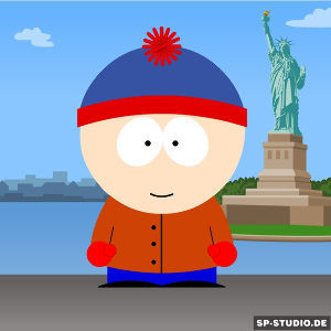 アニメのキャラクター名でしりとり スタン・マーシュ  サウスパーク