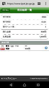 ☆ 馬大国 ☆ たかさん、こんにちはですぅー\(^o^)/  パドックで11番が、すごく良く見えた(笑)  また、菊