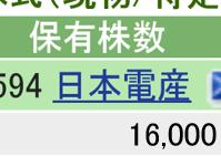 6594 - 日本電産(株) 本日 +1000 SBI 16000 楽天  700 計  16700