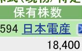 6594 - 日本電産(株) 本日    +300 楽天   700 SBI 18400 計   19100