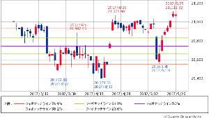 ^GSPC - S&P 500 Dow 21,080.28 -2.67 (-0.01%)  フィボナッチ 3ヶ月