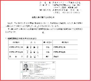 5269 - 日本コンクリート工業(株) IR担当取り締まられ厄 今井昭一