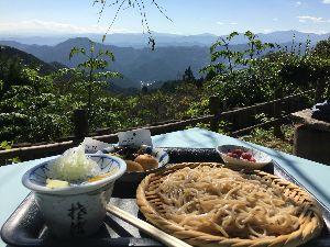 50代これからさ~ おはようございます 土曜日は山登り〜。関東の紅葉はまだまだこれからですね。 良い景色の中で食べた手打