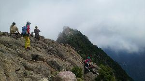 ▲武甲山ファンふたたび▲ 【9/1(金) 西日本最高峰 石鎚山】  8/31~9/3の予定で槍ヶ岳テン泊でしたがまたもや天気が