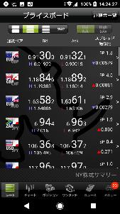 ecsjpy - エクアドル スクレ / 日本 円 6.85から警戒レベル 絶対に6.9割らないで欲しい(スプレッド開いての割れは仕方ない)