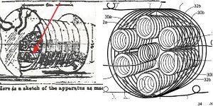 常温超伝導を発見! 添付した図は、ハバードコイルのそれであるが、 これを見ると、1番外側にも、全体を取り巻いて、グルグル