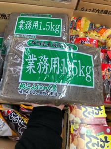 3038 - (株)神戸物産 1.5kg のこんにゃくです