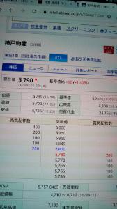 3038 - (株)神戸物産  >ダウが下がらんもんで ptsが調子いいな👻👻👻 売りたくなっちゃうね